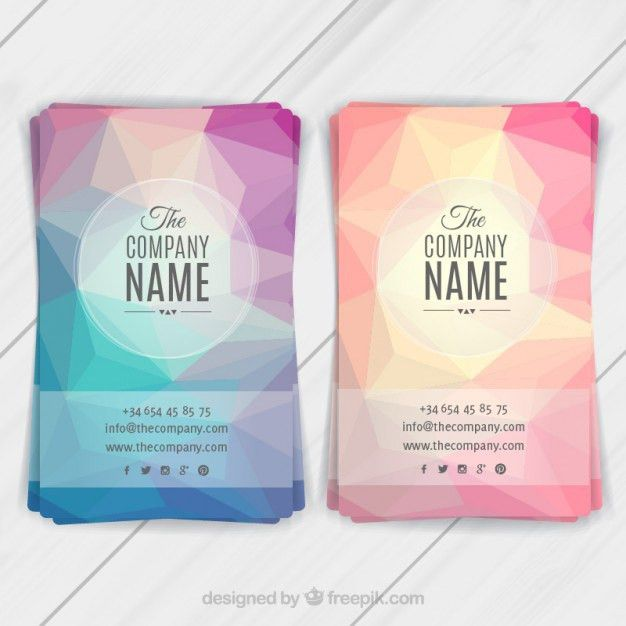 Abstract flyers template Vector | Free Download