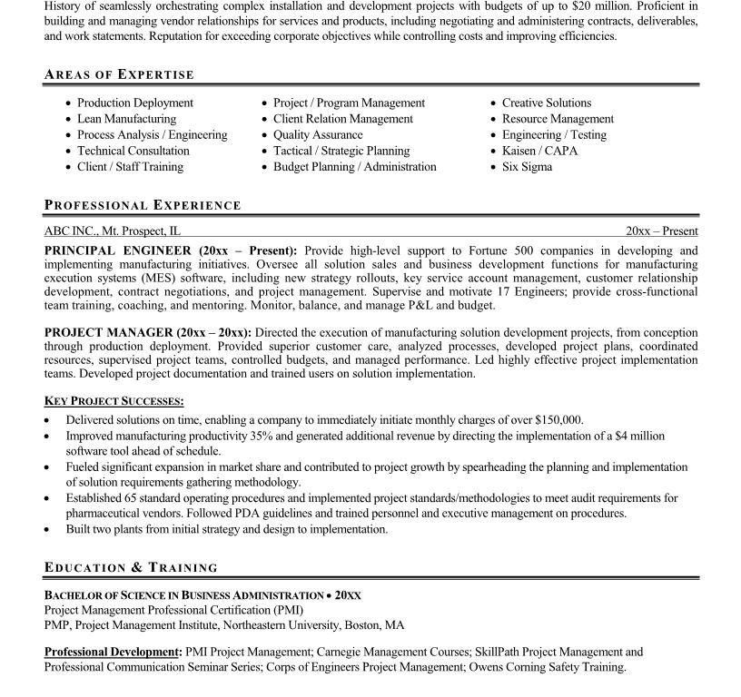 management resume format management cv template managers jobs