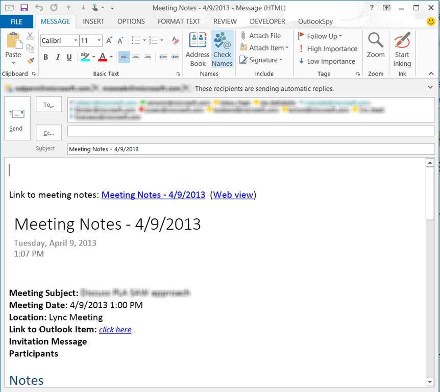 More productive meetings with Lync and OneNote–Part 1 – Exchange ...
