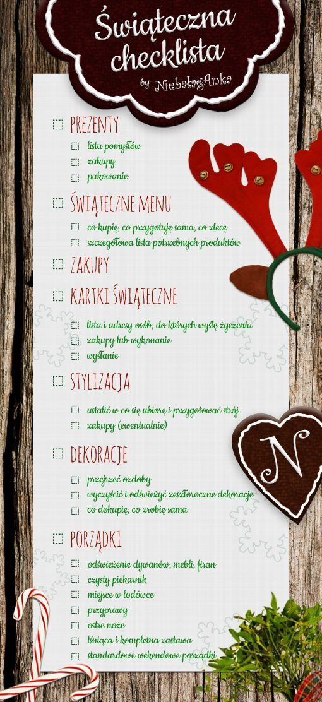 Best 25+ Christmas checklist ideas on Pinterest | Christmas charts ...