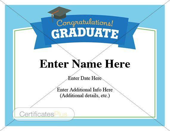 Graduation Certificate. 6+ University Graduation Certificate ...