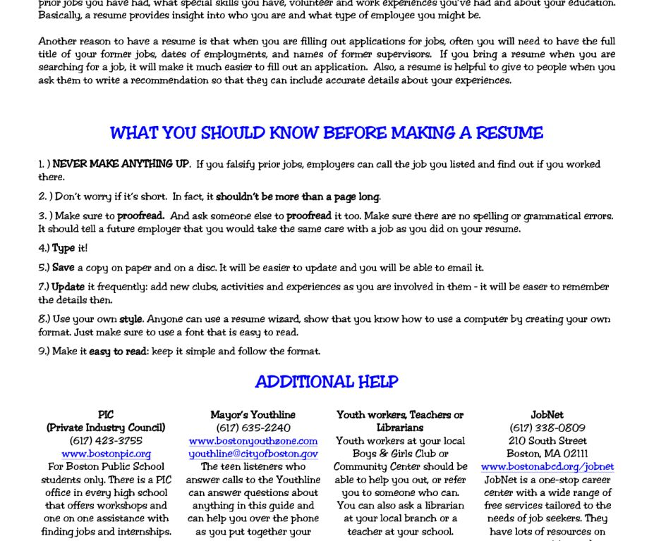 Stylist Inspiration Resumes For Teens 2 5 Resume Teens Sample ...