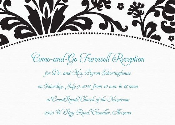 Schortinghouse Farewell Reception, Online Invitations & Cards by ...