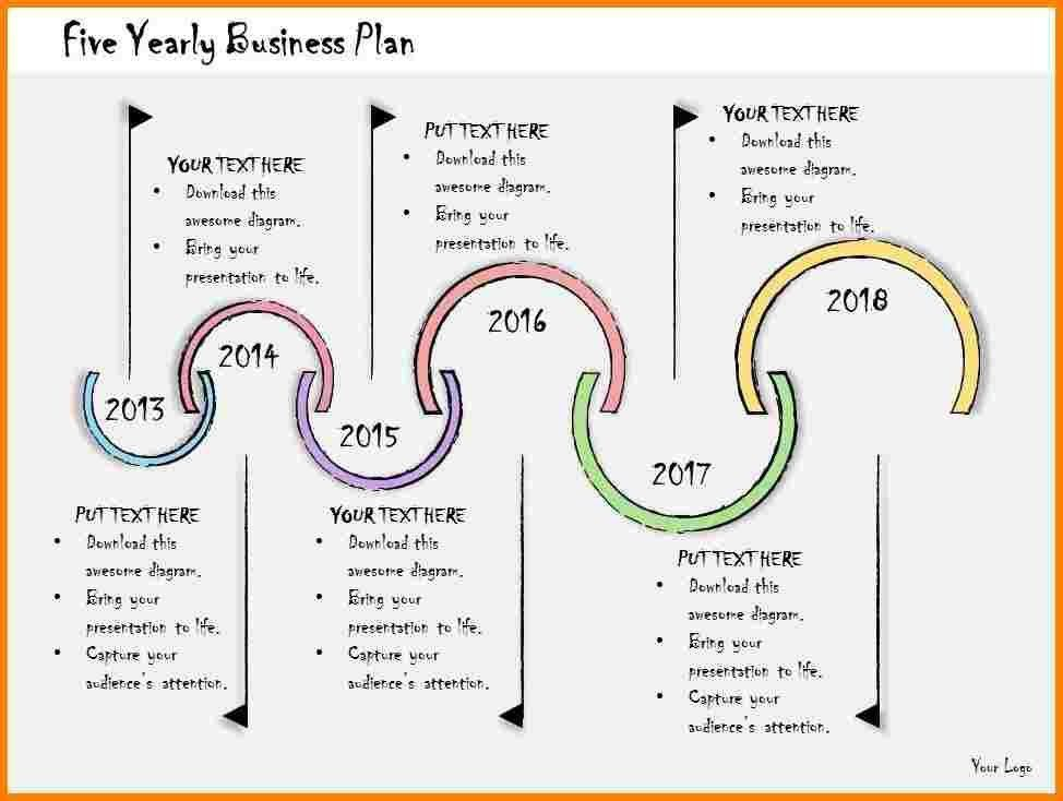 5 Year Business Plan Template   Template Design