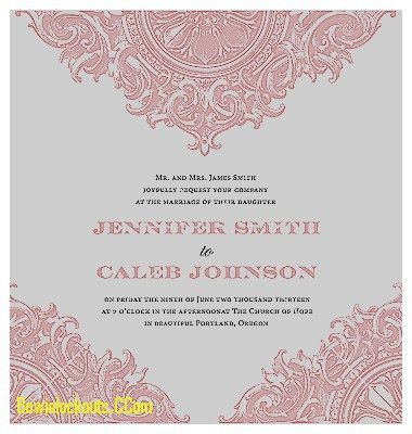 Invitation Design Ideas: Wedding Invitation Cards Templates Free ...