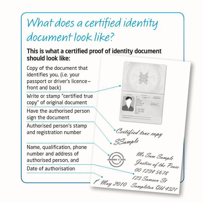 Proof of ID and address document checklist - Company Formation ...