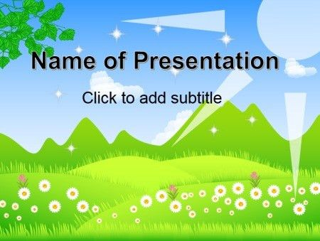 Nature powerpoint templates, free PPT themes and backgrounds