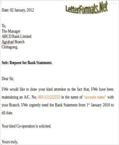 Bank Application Sample - 6+ Examples in Word, PDF