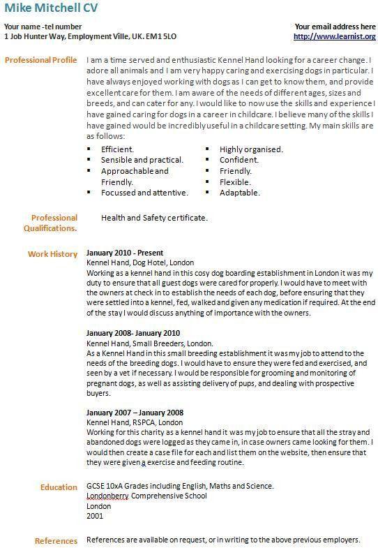 career change cv example template forumslearnistorg