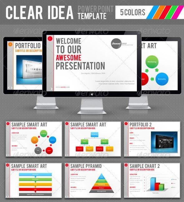 25 Attractive PowerPoint Design Templates   Wakaboom