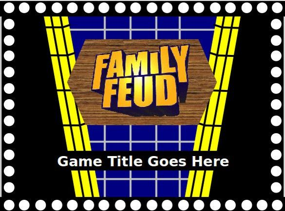Family Feud PowerPoint Template – 8+ Free PPT, PPTX Documents ...