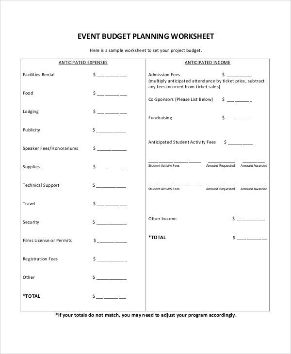 Sample Event Proposal - 7+ Documents in Word, PDF