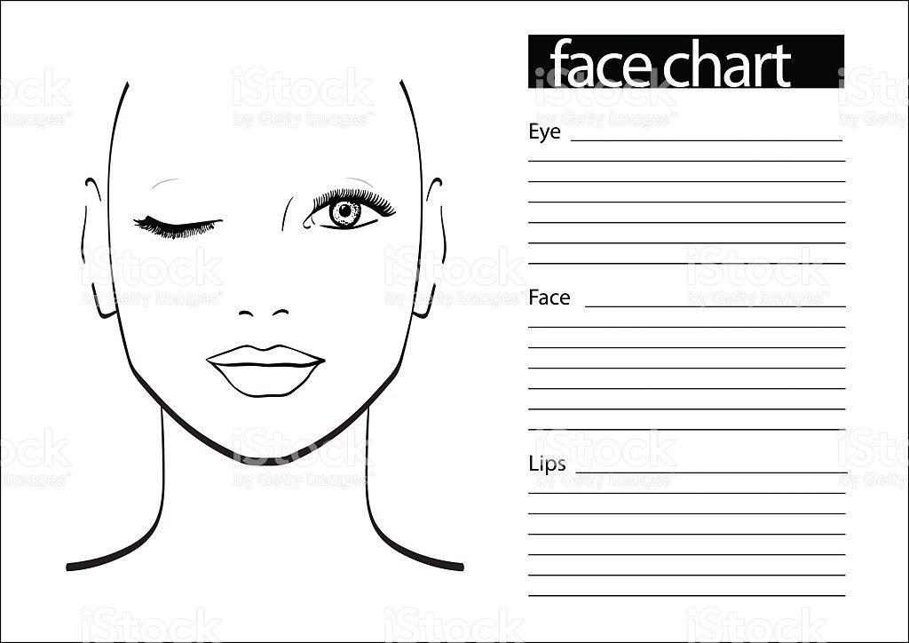 Blank Makeup Forever Face Charts - Mugeek Vidalondon
