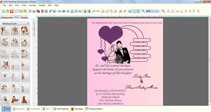 Wedding Invitations Software Free Download - Wedding Invitations