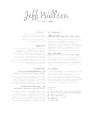Classic Resume Templates | Create a Professional Resume | CVSHOP
