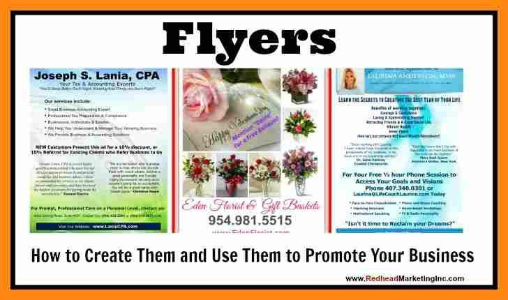 12+ example of flyers for business | graphic-resume