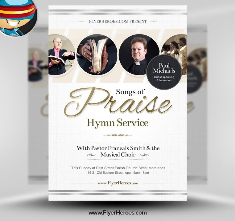 14 Photoshop Template Church Flyers Images - Free Psd Church Flyer ...