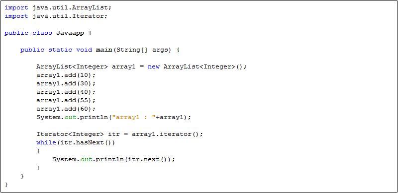 Java Iterator hasNext() and next() - Java Tutorial
