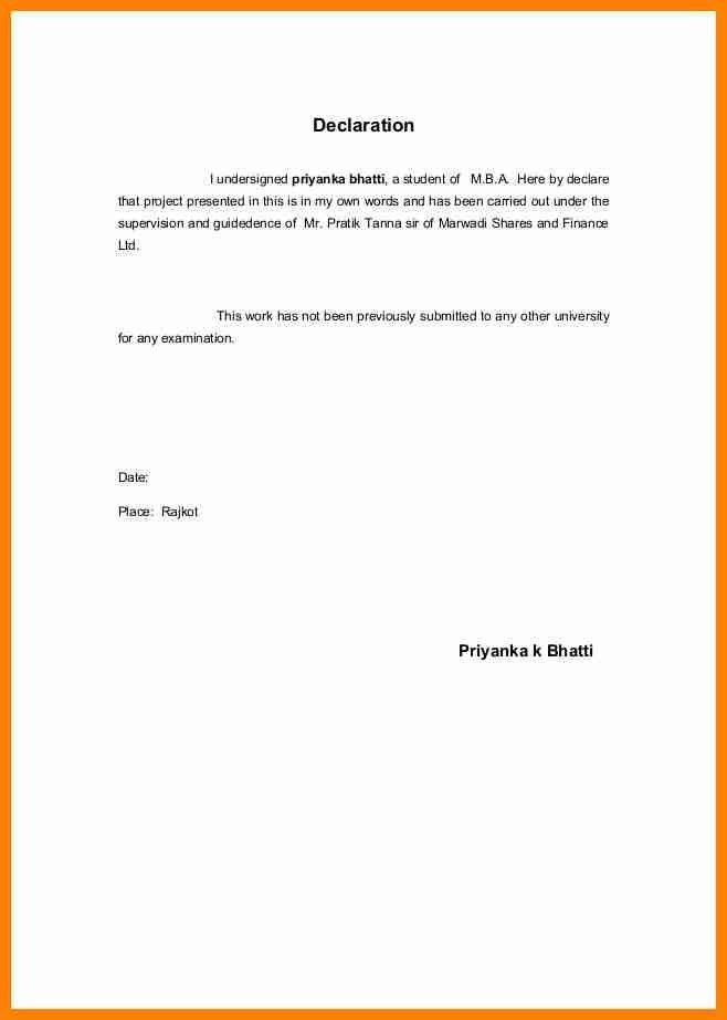 8+ courier declaration format   it cover letter