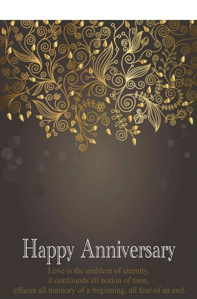 Anniversary Card Templates | Printable Anniversary Cards ...
