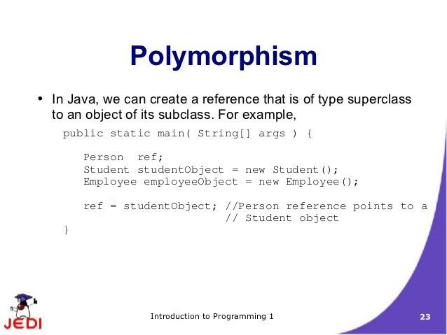 MELJUN CORTES Jedi slides intro1-chapter11-inheritance polymorphism i…