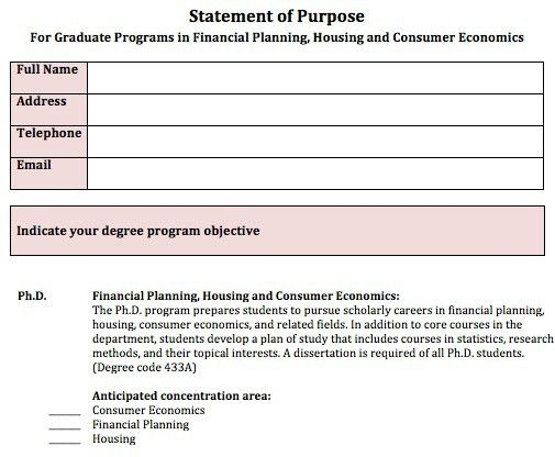 Statement of Purpose Guidelines | How to Apply | Graduate ...