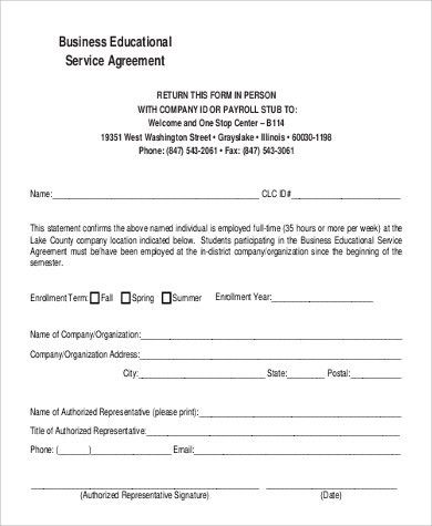 Business Agreement Format Sample   9+ Examples In Word, PDF