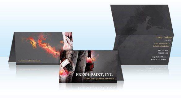Folded Business Cards | Vistaprint