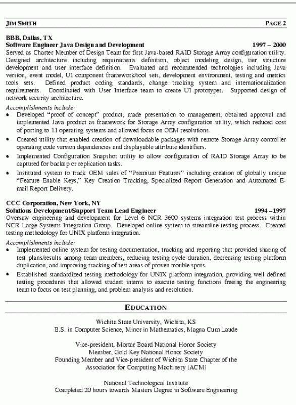 Sql Programmer Resume – Resume Examples