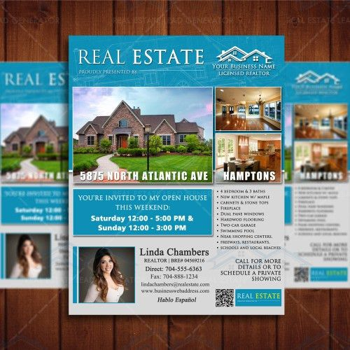 Flyers – Real Estate Lead Generator