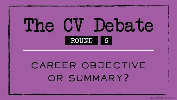 How to Write a CV Career Objective (with Examples)