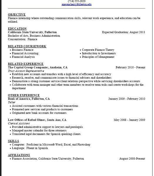 How To Write A Student Resume - Resume CV Cover Letter