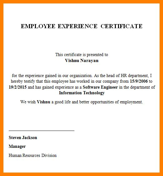 13+ certificate of self employment sample | catering resume