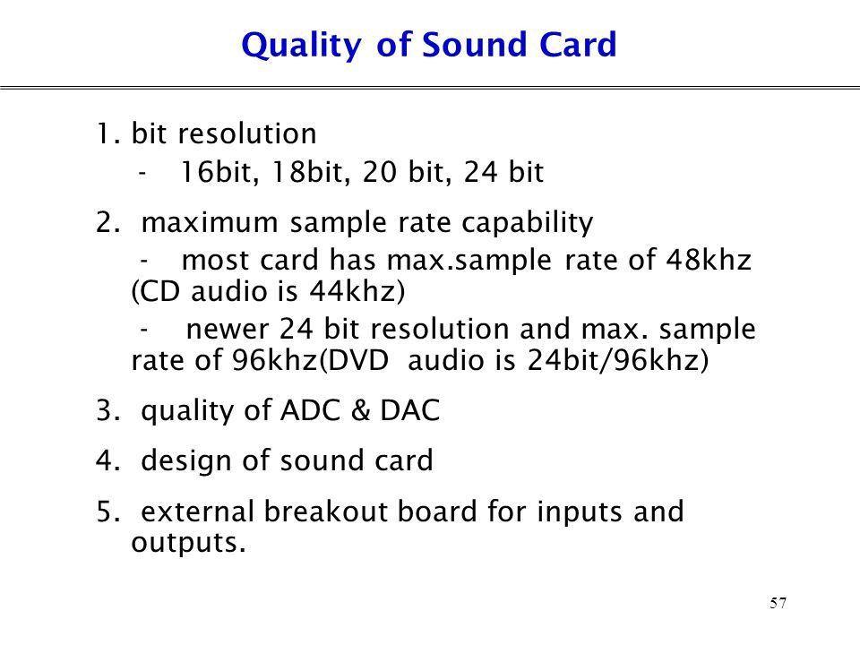 Audio Interfacing Chapter 3 1. Audio Interfacing Standard - ppt ...