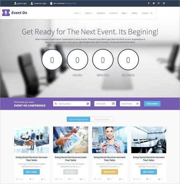 21+ Event Blog Themes & Templates | Free & Premium Templates