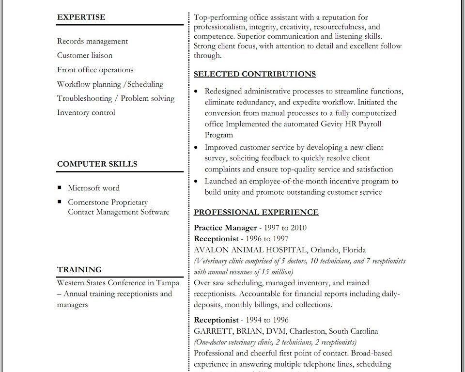 Adorable Microsoft Office Resume Template Extremely - Resume Sample