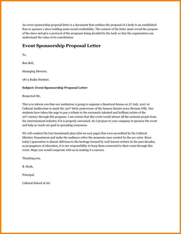 9+ event sponsorship proposal | quote templates