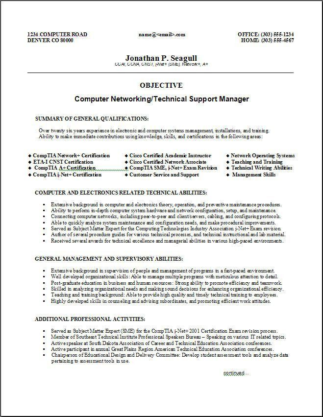 Combination Resume Examples. Functional Resume Samples Resume ...