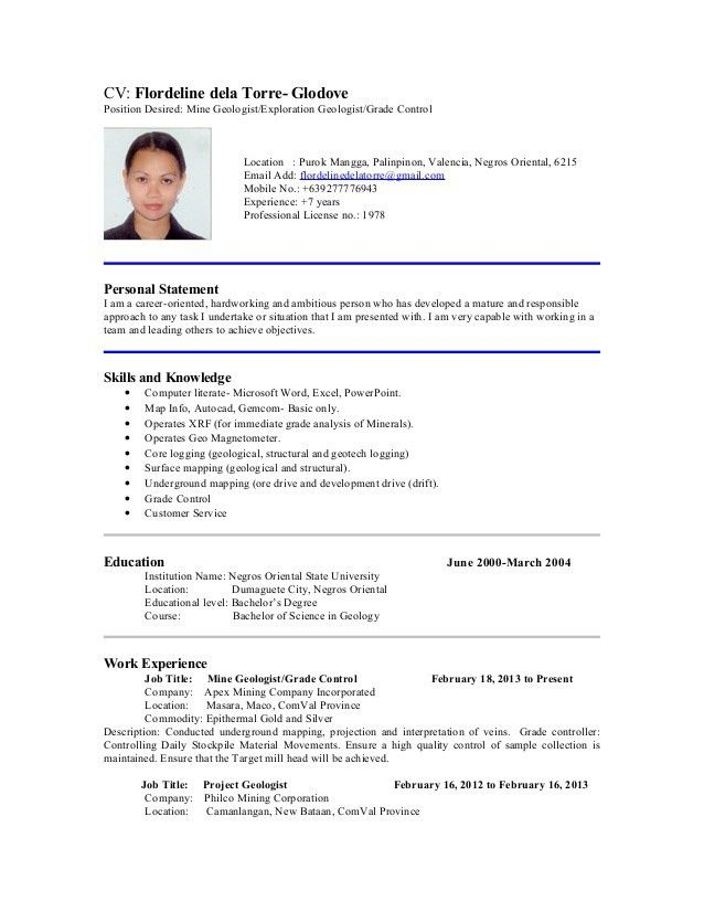 Bunch Ideas of Sample Resume With Position Desired About Job ...
