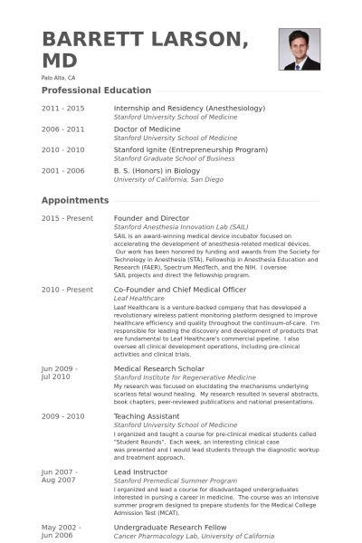 Founder And Director Resume samples - VisualCV resume samples database