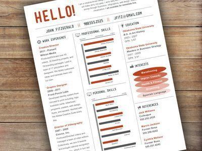 111 best Beautiful Resume EXAMPLES images on Pinterest   Resume ...