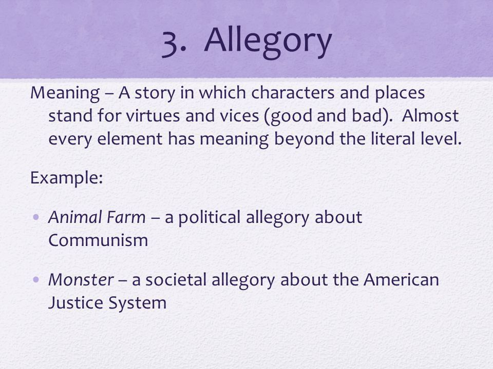 Symbolism and Allegory - ppt download