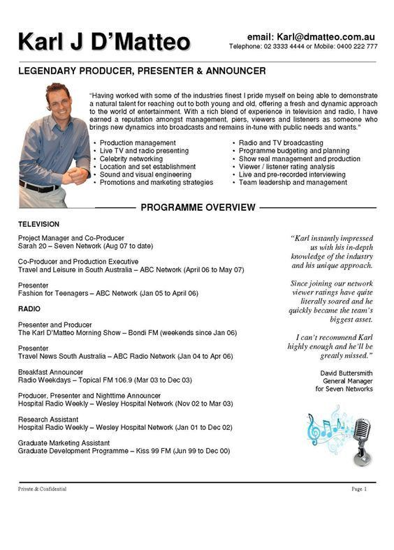 Production Manager Resume Samples. download sample production ...