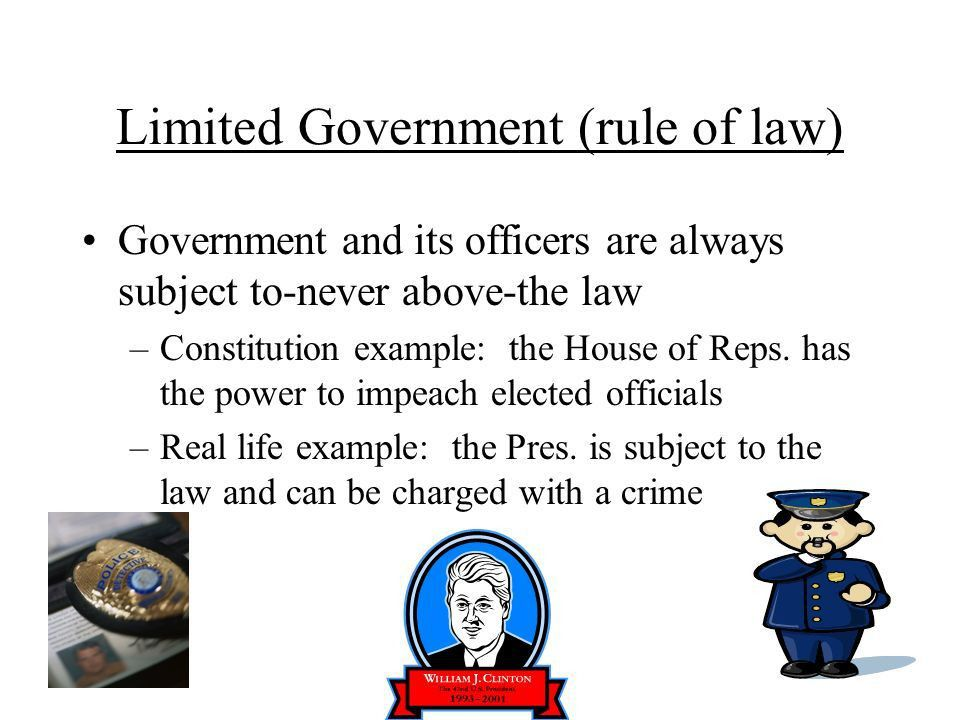 The 6 Basic Principles of the Constitution Popular Sovereignty The ...