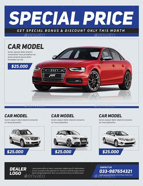 Car Sale Flyer by Guuver | GraphicRiver