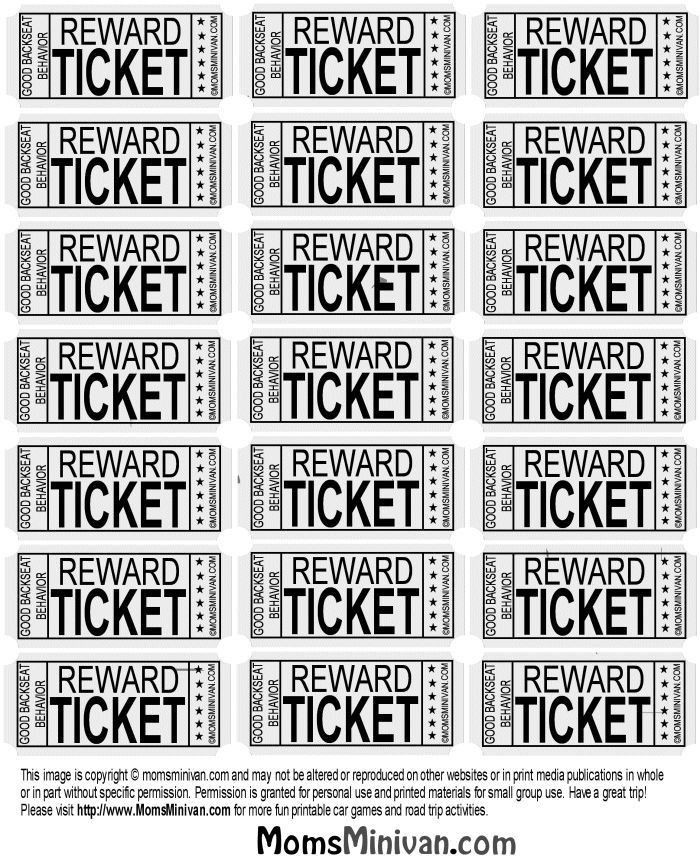 Free Ticket Printing Free Ticket Template Full Page Best 25 – Print Tickets Free Template