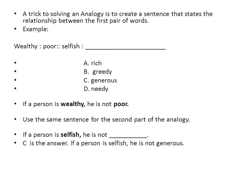 Analogies What are they?. - ppt video online download