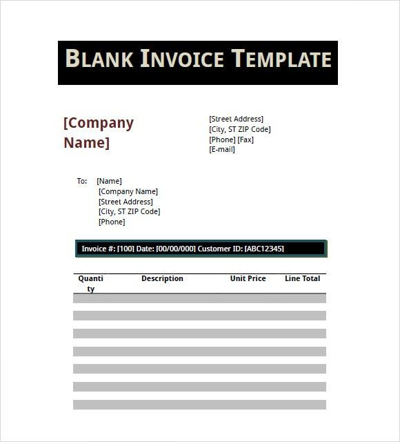 Basic Invoice Template - 9+ Free Samples, Examples, Format