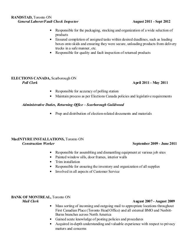 Ken Radcliffe's Good Copy Resume