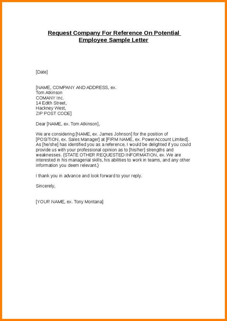 12+ how to write a letter of recommendation for an employee ...